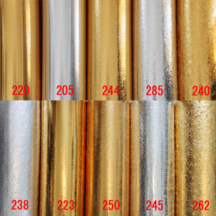 New 2016 hot sale waterproof gold foil self adhesive pvc for Gold self adhesive wallpaper