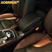 Aosrrun Искусственная кожа автомобиль Подлокотник Обложка автомобиль Интимные аксессуары для Audi Q5 2008-2017