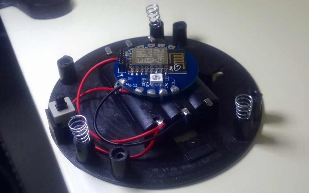 ESP8266 IFTTT WiFI Button Dev Kit