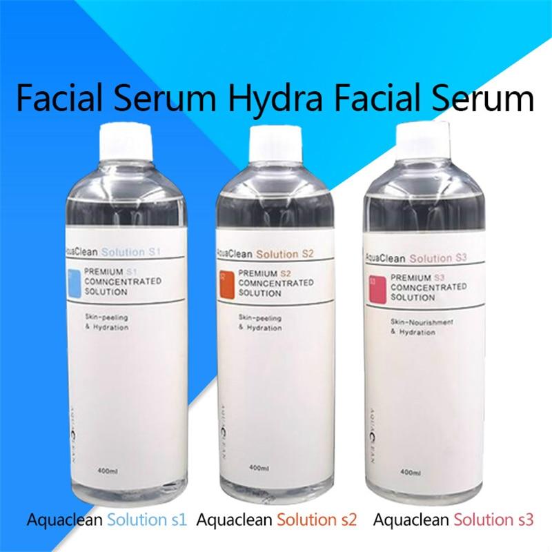 Aqua Clean Solution Aqua Peel Concentrated Solution 400ml Per Bottle Aqua Facial Serum Hydra Facial Serum For Normal Skin