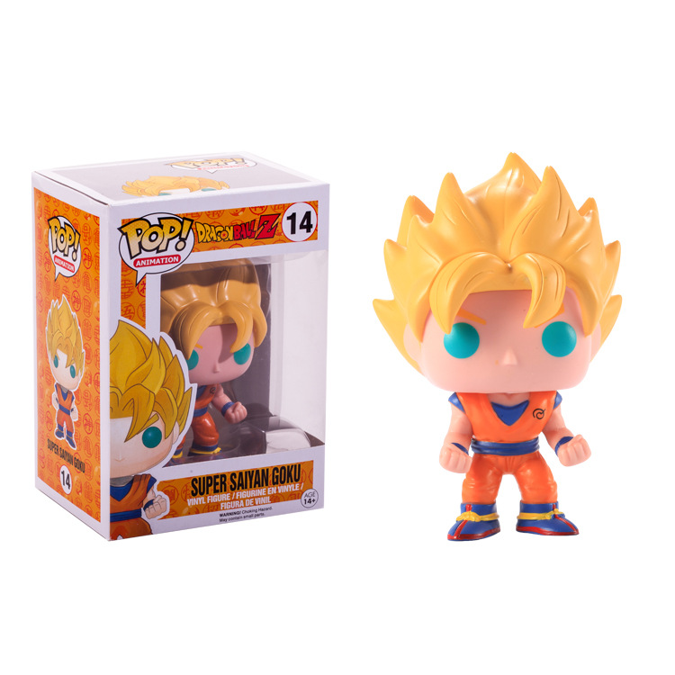 Funko pop Official Amine Dragon Ball Vinyl Action Figure Collectible Model Toy 14