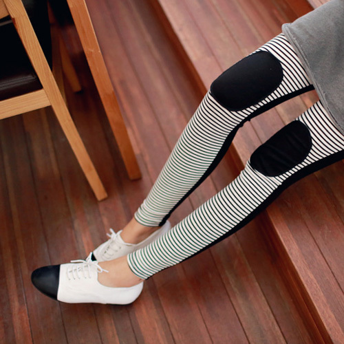 Women Maternity Striped patch leggings pants clothes for pregnant womens Adjustable Tight trouser clothing collant maternite