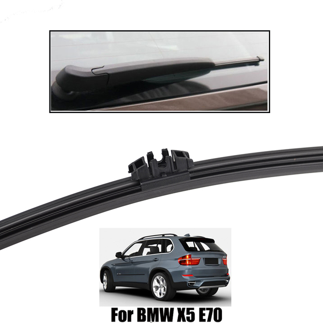 "Ericks LHD Wiper Front Rear Wiper Blades Set For BMW X5 E70 2006 - 2011 Windshield Windscreen Front Rear Window 24""+20""+15"""