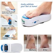 New Arrivals Step Pedi Electric Foot Action Figure File Waterproof Hard Skin Callus Remover Scraper Pedicure Toy