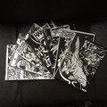 Набор из 7 Японский Тату Трафарет книги horimouja-Кои Hannya Черепа Дракона Татуировки книги, тату