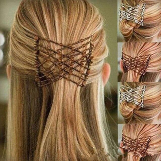 Pinza de pelo de mariposa Flexible peine de Pelo elástico para mujer herramientas de estilismo peine cepillo de pelo profesional diadema de moda