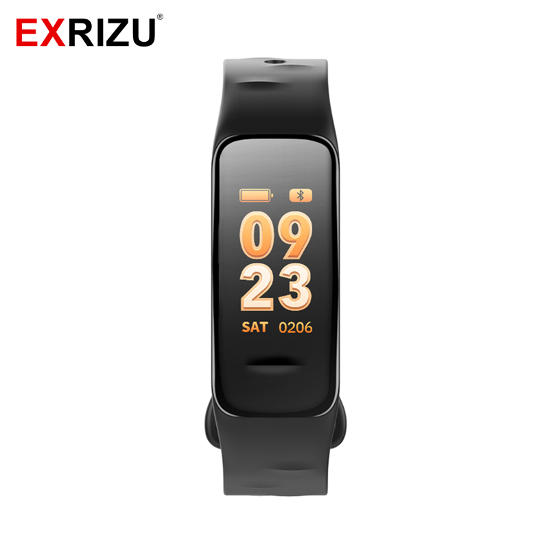 Blood Pressure Monitor Oxygen Meter Heart Rate Smart Wristband Band C1 IP67 Waterproof Pedometer Alarm Clock Fitness Bracelet