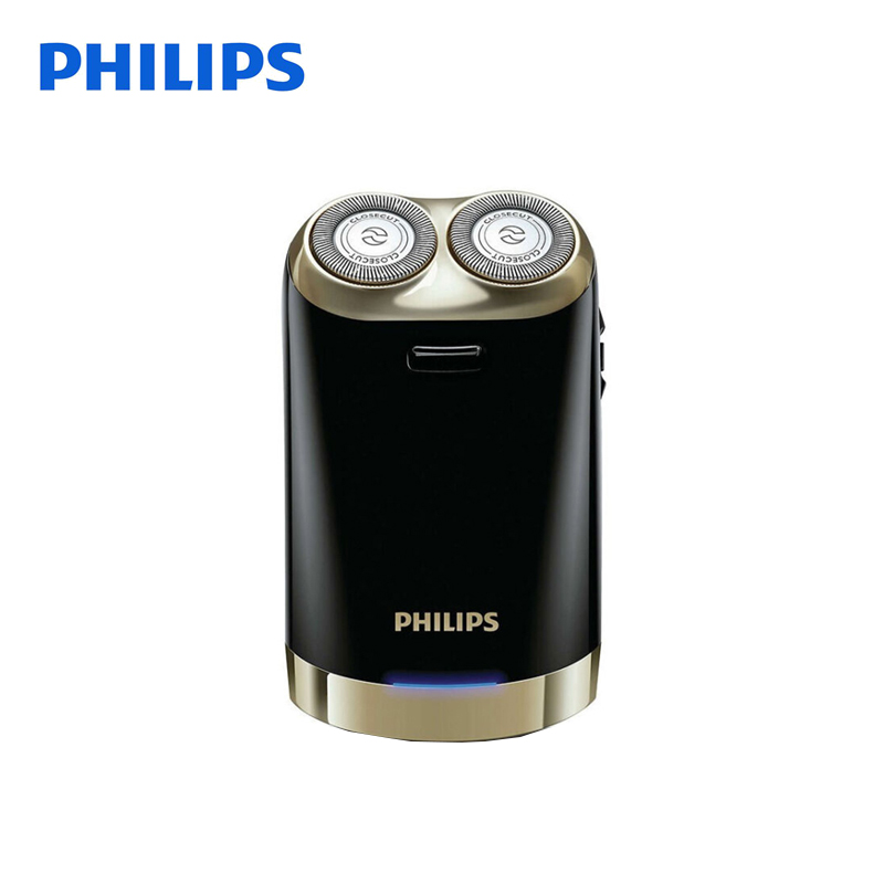 Philips  Electric Shaver HS199 with USB Charger 100-240V Support Laptop Charging for Man Retail Package Automatic Grinding Blade philips electric shaver s330 rotary rechargeable and body wash design for men s flexible veneer system with retail package