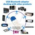 Novo USB V2.1 Sem Fio Bluetooth Adaptador de Áudio Bluetooth Receptor de Música Estéreo para AUX Carro Alto-falantes Em Casa PC Celular