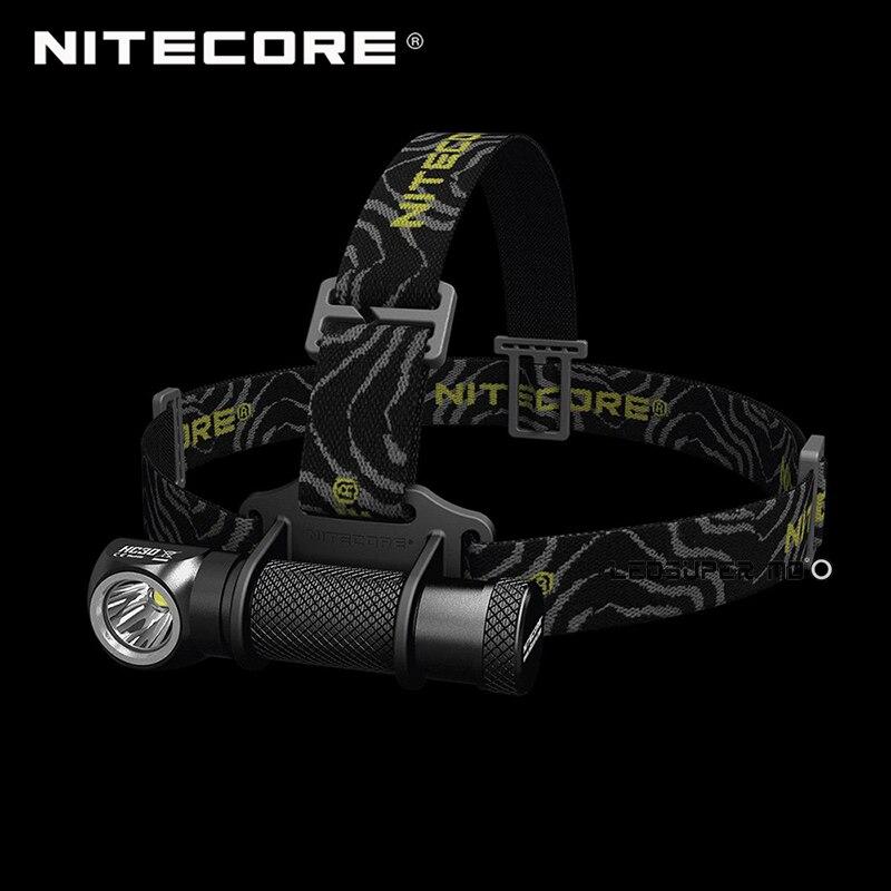 Top Vente Produit Nitecore HC30 Tête Torche XM-L2 U2 LED Haute Performance Léger Double-forme Projecteur 1000 Lumens