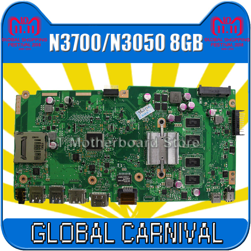 X540SA Motherboard N3700/N3050 8GB RAM For ASUS X540SA X540S X540 F540S Laptop motherboard X540SA Mainboard X540SA Motherboard матрас diamond rush soft great 40sm 120x200x47 см