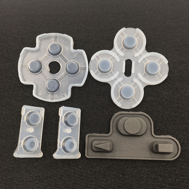 50SETS Replacement Rubber Conductive Adhesive Button Pad for Playstation 3 PS3 L2 R2 Trigger Button Rubber