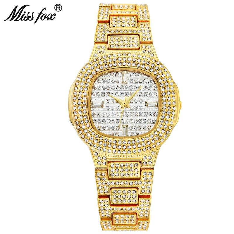 Miss Fox Dress Watch Famous Brand Women Gold Watch Japan Quartz Movement Xcfs Role Ladies Wrist
