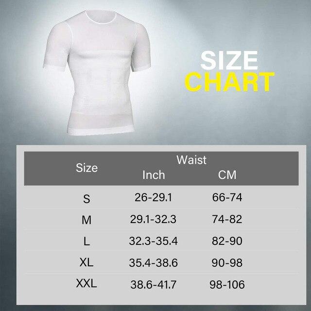 Lover Beauty Men Slimming Body Shaper Vest Shirt Abs Abdomen Slim Compression Shirt Tummy Control Weight Loss Tank Top Shapewear 5