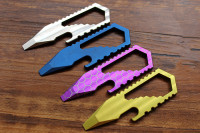 Titanium Alloy EDC Multifunctional Tool Card Opener Crowd Wrench Multi Tools EDC Opener