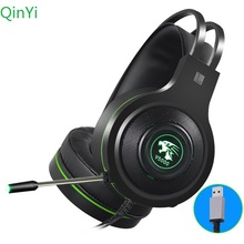 7.1 channel head-mounted gaming headset noise reduction computer game headphone with microphone 3.5mm standard  version atx silent mute version of desktop computer case sound absorption and noise reduction computer box