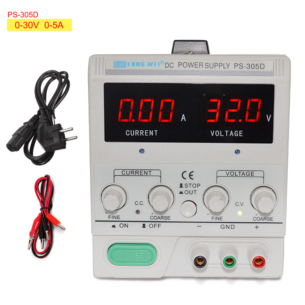 LW-PS305D Linear DC Power Supply Adjustable Digital LED Test Electroplating Aging 30V 5A Switch Laboratory Power Supply 110V220VLW-PS305D Linear DC Power Supply Adjustable Digital LED Test Electroplating Aging 30V 5A Switch Laboratory Power Supply 110V220V