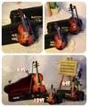 1/6 70 см мальчик мини музыкальные инструменты мини скрипка подарок на день рождения bjd аксессуары