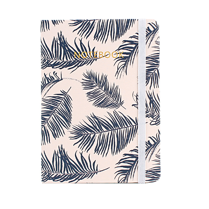 A5 A6 A7 Retro Pastel Leaved Leaf Blank paper Notebook Planner Travelers Bullet Journal Diary Monthly