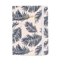 A5 A6 A7 Retro Viajantes Bala Pastel Com Folhas Folha de papel Em Branco Notebook Planejador Diário revista Planejador Mensal Divisores