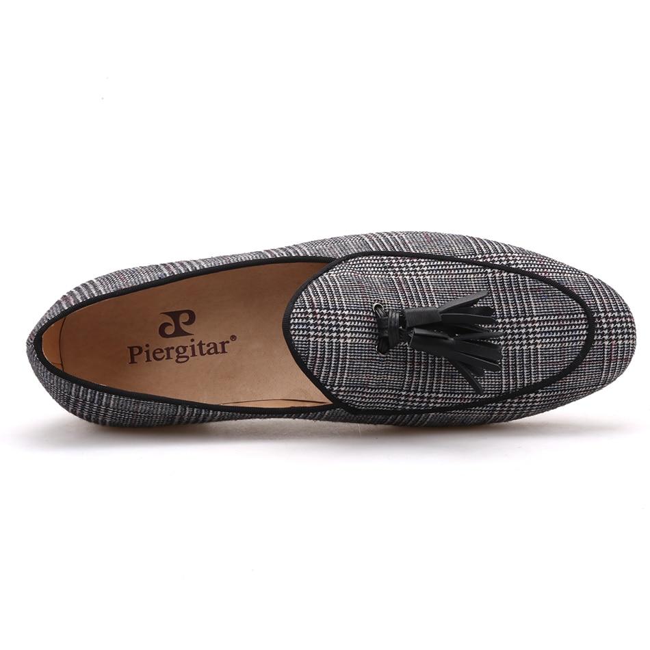 Et 2018 Mocassins Taille De Gland Avec Intérieure Plus Mode Casual Chaussures Main Pierigtar Gris Cuir Hommes Semelle Partie Design Nouveau En PHWYfd