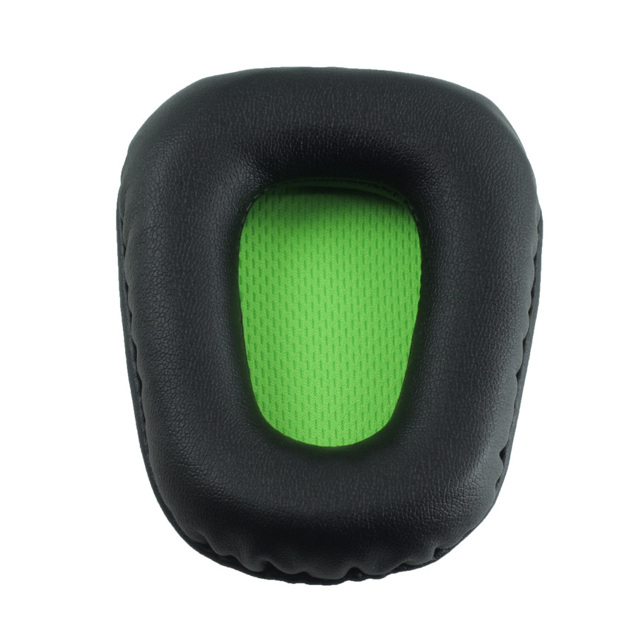 Foam Ear Pads Cushions for Razer Electra Headphones High Quality Black Green 12.19 (1)