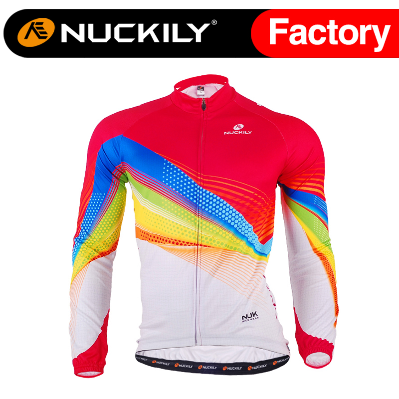 ФОТО Nuckily Winter New arrival mens wonderful design  warmer fleece cycling jersey  ME013