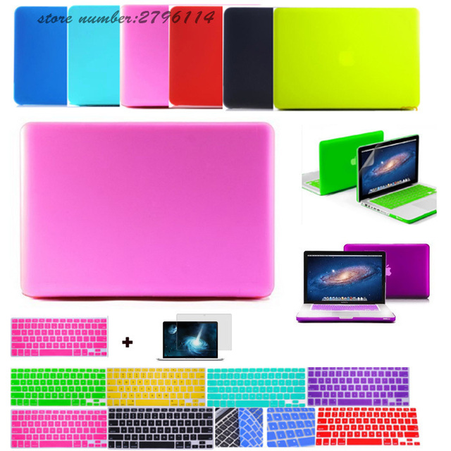 3in1 Deep colors matte laptop case For Macbook pro 13 air 11 13 ...