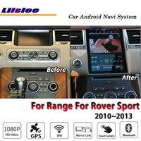 Liislee автомобиля Android для Range Rover Sport 2010 ~ 2013 оригинальный стиль радио Carplay gps навигационная карта навигации системы Мультимедиа