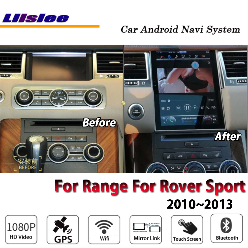 Liislee Car Android For Range For Rover Sport 2010~2013 Original style Radio Carplay GPS Navi Map Navigation System Multimedia