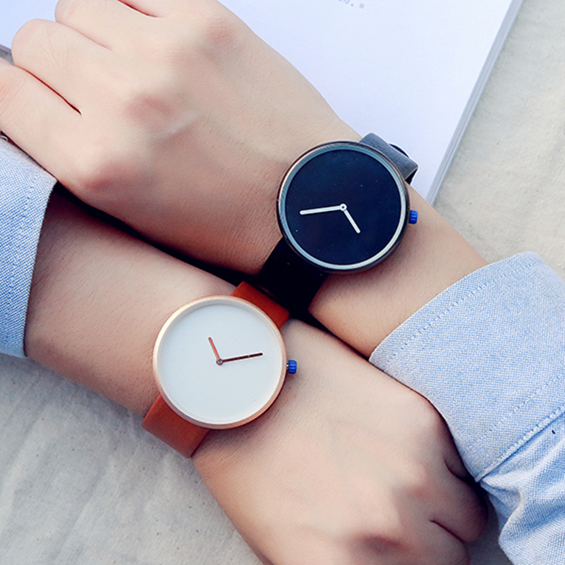 minimalism Style Ladies Dress Watch BGG brand Female Quartz Wristwatch  Fashion Leather Strap Women Casual Clock hours relogio miler vintage fashion watch women retro leather strap world map casual quartz wristwatch ladies creative clock relogio feminino