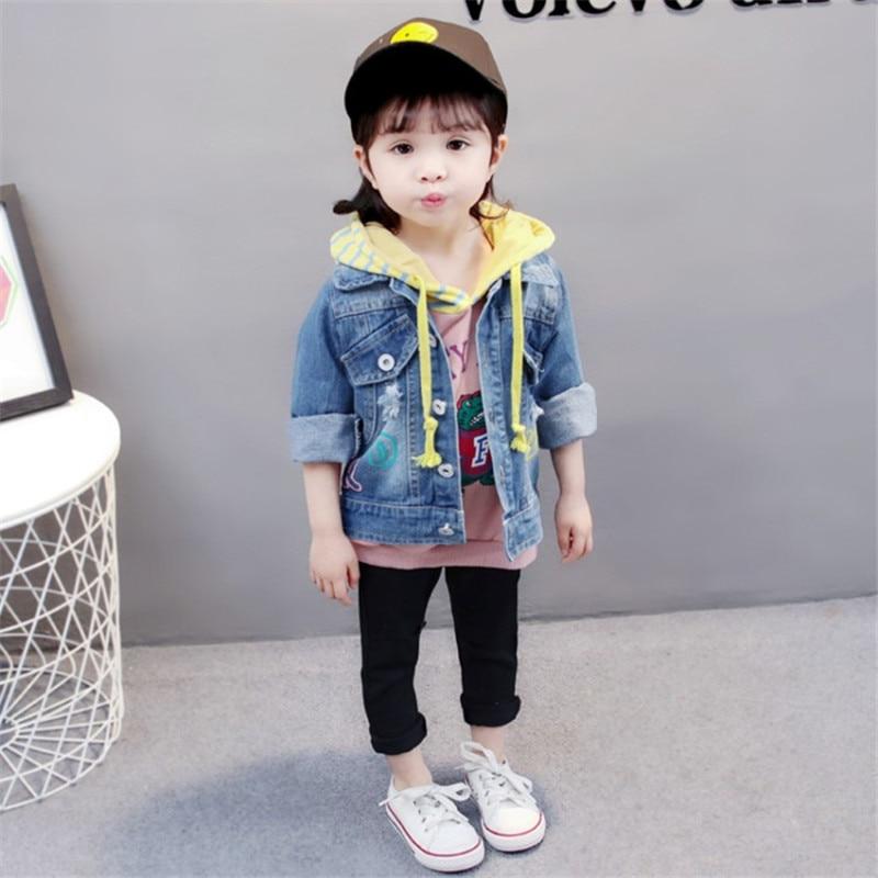 Zoe Saldana 2018 Kid kleding Unisex Baby jongens meisjes denim lange - Kinderkleding - Foto 3