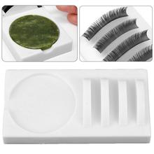 2 In 1 Eyelash Grafting Pad Eyelashes Special Tool Eye Lash Glue Stand Support Extension Makeup