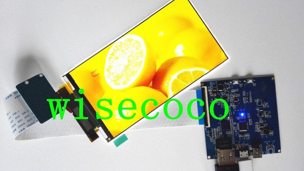 Glorieus 5.5 Inch 2160*3840 4 K Lcd-scherm Hdmi Naar Mipi Diy Cv1 Hoofd Gemonteerd Pc Voor Diy Projector /3d Printer/video Projector Uitstekende Kwaliteit