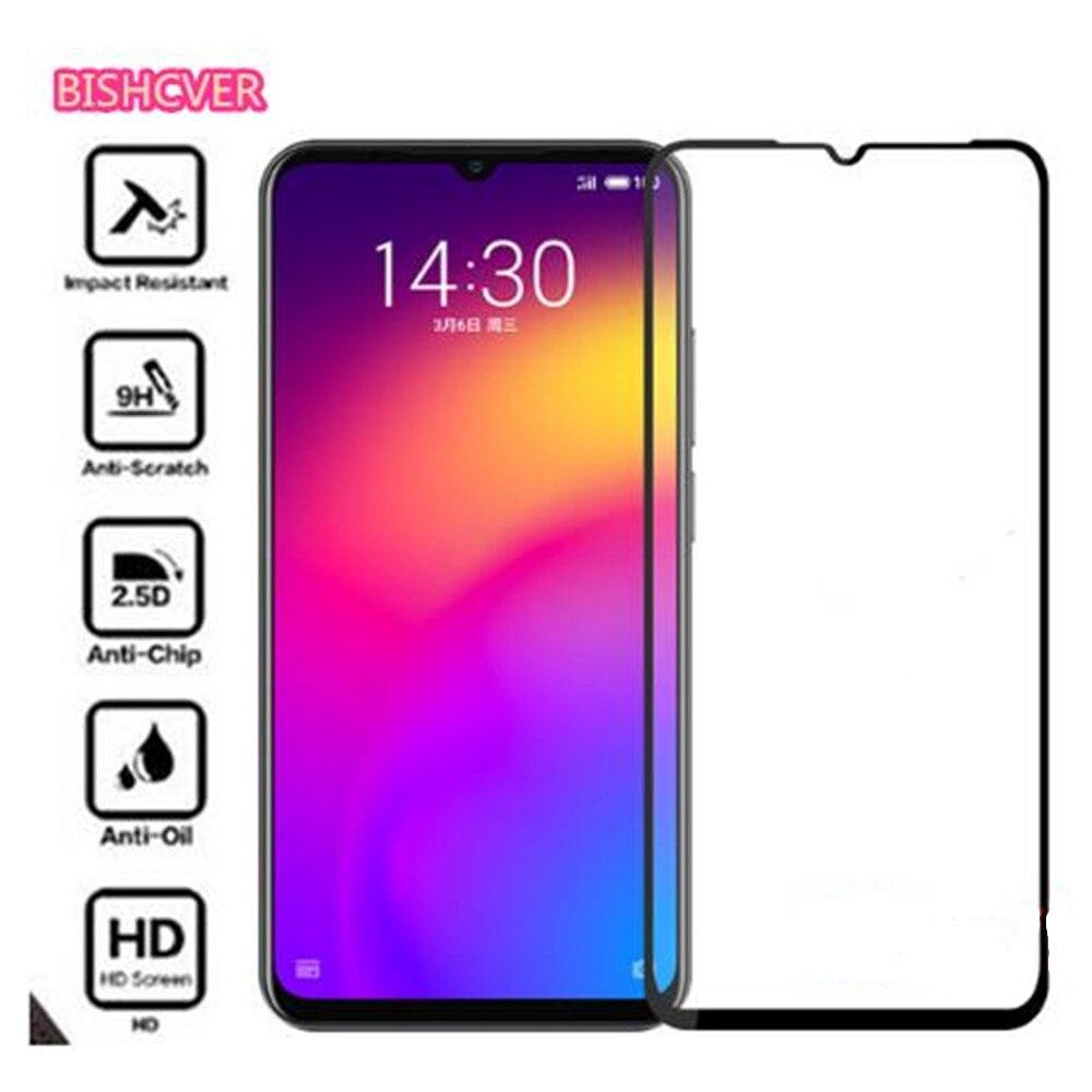Meizu Note 9 Glass Tempered Glass for Meizu Note 9 Glass Film 9H Full Glue Full Cover Screen Protector for Meizu Note 9