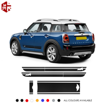 Car Hood Trunk Engine Rear Side Stripes Skirt Sticker Body Decal Kit For MINI Countryman F60 JCW ALL4 2017-Present Accessories youthup 2018 harajuku hoodies women men hooded hoodies flamingo print fashion floral sweatshirts 3d pullover tracksuit plus size