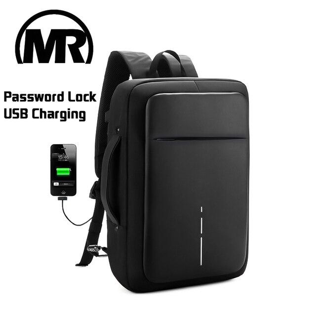 MARKROYAL 2018 New Men Women Large Capacity Business Backpack Men Business Shoulder Bag Fits 15.6 inch Laptop portable Mochila