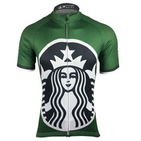 2017 vente Chaude Starbucks Hommes Pro Cycling Team Jersey Racing Sport Tops Vélo Cyclisme Vêtements Ropa Ciclismo