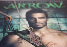Green Arrow you have failed this city arrow necklace Vintage Movie Jewelry