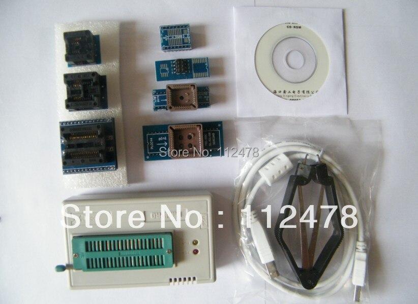 все цены на Free shipping 2018 New V8.05 XGECU MiniPro TL866CS TL866A TL866II Plus USB Universal Bios nand Programmer +8 IC adapters
