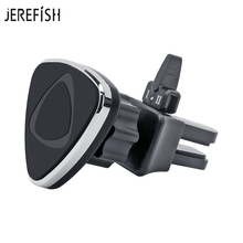 JEREFISH Car Phone Holder Magnetic Air Vent Mount Mobile Smartphone Stand Magnet