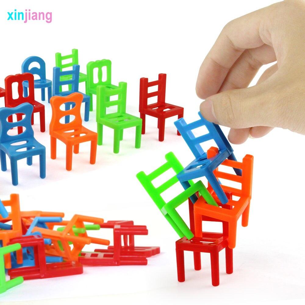 Balance Chairs Game Stacking Puzzle Toys  kids Educational Desktop gam GK