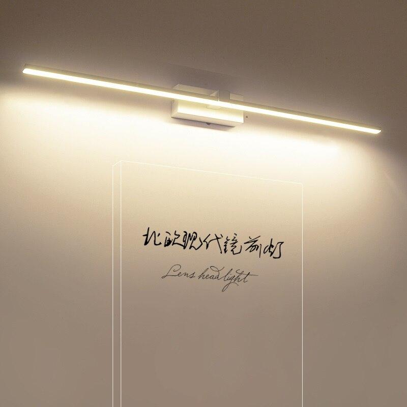 Moderno HA CONDOTTO LA luce Specchio illuminazione vanità Nordic lampade Da Parete apparecchi di trucco barbiere spogliatoio tavolo di illuminazione luci del bagno