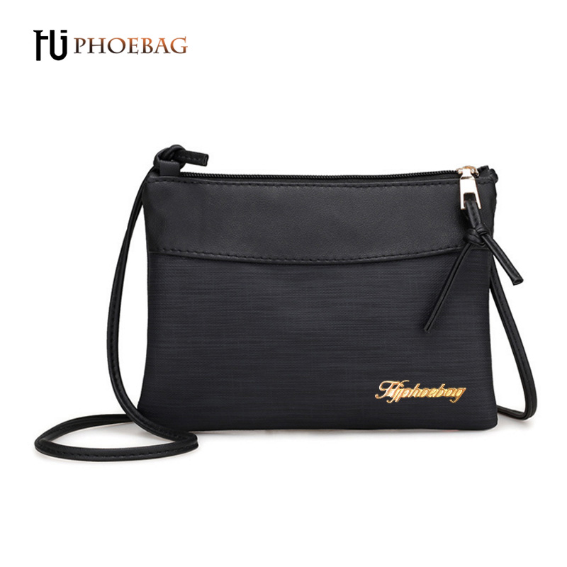 HJPHOEBAG 2017 new Fashion Women bags Ladies PU leather luxury shoulder bag High quality solid zipper crossbody bags XB-595 feral cat women small shell bag pvc zipper single shoulder bag luxury quality ladies hand bags girls designer crossbody bag tas