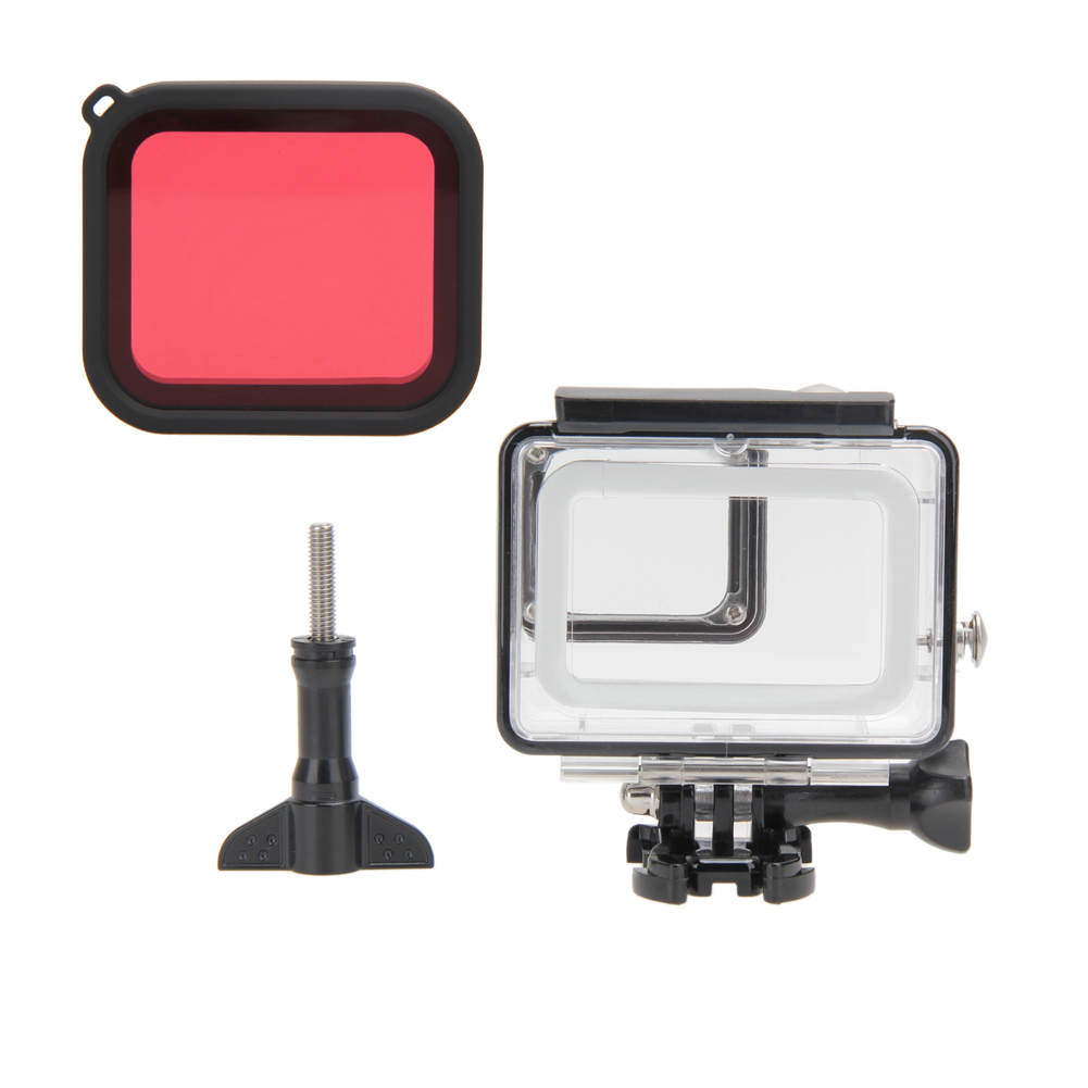 Ncamera Housings Waterproof 45m Hd Dive Housing Case For Gopro Hero Acc Remote 20 Camera Hero5 High Quality Filter