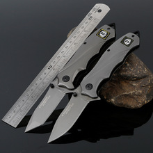 The wild Woodworking knife wilderness survival self-defense carry fruit folding outdoor small cutter Stainless Steel