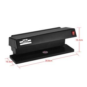 Image 5 - Портативный мультивалютный детектор фальшивых купюр Ультрафиолетовый Двойной УФ светильник устройство для обнаружения банкнот Checker Forge