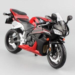 Image 3 - Klasik 1:12 ölçekli Maisto Honda CBR 600RR CBR600RR Diecast model moto motosiklet yarış araçları çoğaltma süper bisiklet hobi oyunu oyuncak