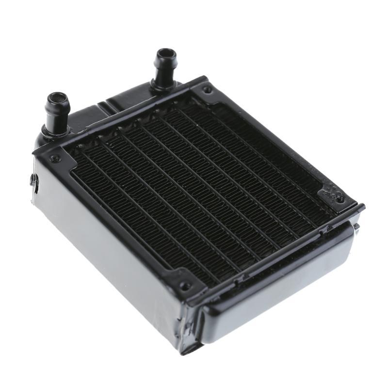 Aluminum Computer Radiator Water Cooling Radiator Water Cooler Tubes Heat Exchanger CPU Heat Sink For Laptop Desktop