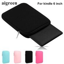 Fashion Soft bag For 6 inch Amazon Kindle, Cover Case For Kindle Paperwhite, Bag For Kindle 499, 799,Voyage,Free Drop Ship KC05